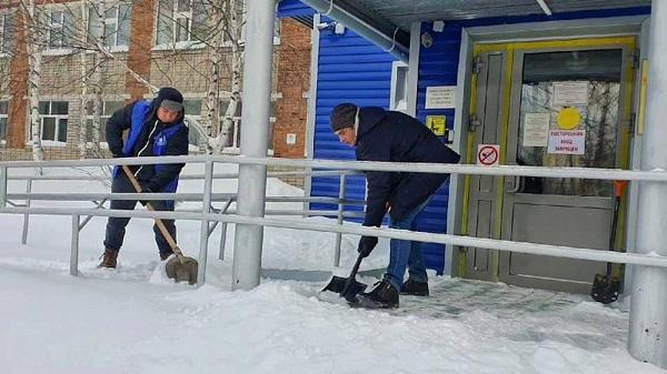 Волонтеры Нижневартовска участвуют в акции «Снежный десант»